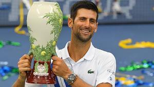 Western & Southern Açıkta şampiyon Novak Djokovic
