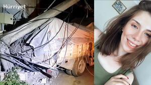 Dedesine aşure götüren üniversite öğrencisi, kamyonla duvar arasına sıkışarak öldü