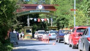 İki günde toplam 23 bin kişi Belgrad Ormanına geldi