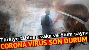 31 Ağustos Koronavirüs Tablosu: Türkiyede ve dünyada corona virüsü (corona virüs) vaka iyileşen ve ölüm sayısında son durum