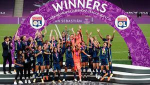 Olympique Lyon, kadın futbolunda üst üste 5. kez Avrupanın en büyüğü oldu