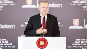 Erdoğan: Artık uzay ligindeyiz
