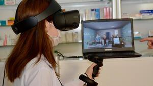 Sanal gerçeklik teknolojisi eczacılık eğitimine de dokundu