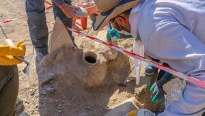 Vanda Urartulardan kalma nekropolde yeni bir ölü gömme geleneği tespit edildi