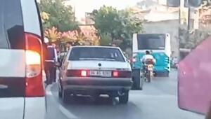 Fatihte havaya ateş edilen düğün konvoyunda bir kişi gözaltına alındı