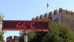Kayseride termometreler 44 dereceyi gördü
