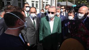 Son dakika... Cumhurbaşkanı Erdoğan, sel felaketinin yaşandığı Giresunda: Esnafa bazı müjdeler vereceğim