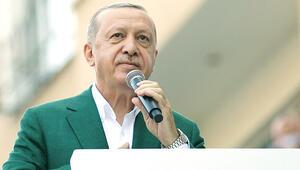 Erdoğan Giresun'da sel bölgesini inceledi: Yıkımsa yıkım, ihyaysa ihya