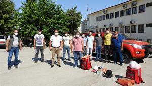 Orman gönüllüleri yangına karşı eğitim aldı