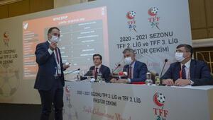 TFF 2. Lig ve TFF 3. Ligde fikstür çekildi