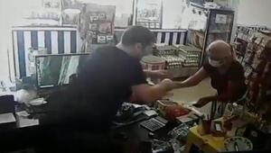 İzmirde tırnakçıdan market sahibine akılalmaz tehdit