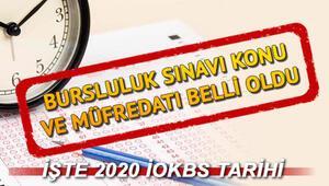 Bursluluk Sınavı konuları neler 2020 İOKBS konuları için açıklama
