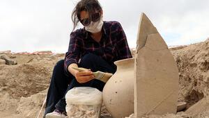 2 bin 750 yıllık nekropoldeki yeni bulunan gömü şekli şaşırttı
