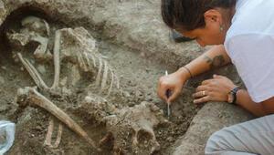 Bilecik'te bulunan 8 bin 500 yıllık insan iskeletinin DNA'sı incelenecek