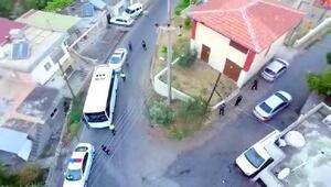 İskenderunda özel harekat polislerinin de desteğiyle operasyon: 7 gözaltı