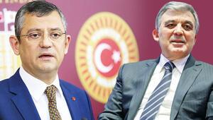 Son dakika haberi: CHP, Abdullah Gül'e kapıyı kapattı