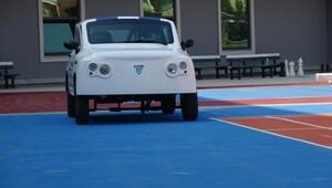 Öğrenciler, geliştirdikleri elektirkli araçla TOGGa rakip olmayı hedefliyor