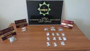 Çorluda uyuşturucu operasyonu: 17 gözaltı