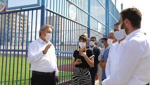 Başkan Palancıoğlu, park yapım çalışmalarını inceledi