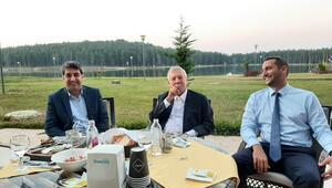 Fenerbahçenin eski başkanı Aziz Yıldırım, Topuk Yaylasında Gururlandım...