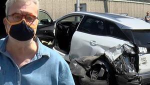 Ünlü gurme Mehmet Yaşin trafik kazası geçirdi