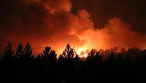 Denizli'deki orman yangını Burdura sıçradı