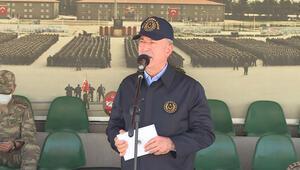Son dakika haberler: Milli Savunma Bakanı Akar ve TSK komuta kademesinden komandolara ziyaret