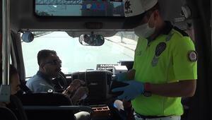 Esenyurtta maskeyi koluna takan minibüs şoförüne 900 tl ceza