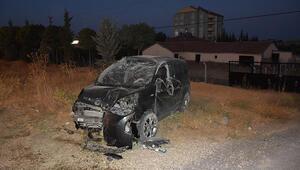 Konyada takla atan hafif ticari aracın sürücüsü ağır yaralandı