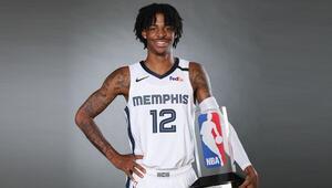 NBAde yılın çaylağı Ja Morant