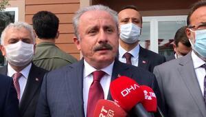 TBMM Başkanı Mustafa Şentoptan idam açıklaması