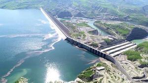 Ilısu Barajından ekonomiye 4 ayda 600 milyon lira katkı