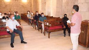 Şahinden, Mor Dimet Kilisesine ziyaret