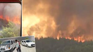 Son dakika haberler: Hatayda çıkan orman yangınına müdahale ediliyor