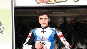 Milli motosikletçi Bahattin Sofuoğlu, İspanyada ikinci oldu