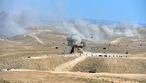 Türkiye ve Azerbaycandan savaş sahnelerini aratmayan tatbikat