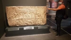 Hitit döneminin baraj kitabesi Kayseride sergileniyor