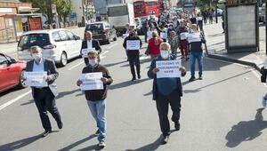 Gençlere iyi bir gelecek için çetelere karşı yürüdüler