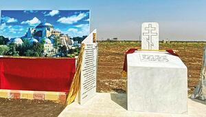 Suriye'de Ayasofya'nın benzeri kilise inşaatı