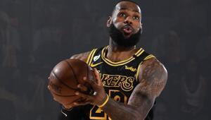 Lakers, LeBron James liderliğinde seride durumu eşitledi NBAde günün maçları ve sonuçları