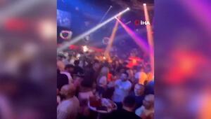 İstanbul'daki gece kulüplerinde tepki çeken görüntüler