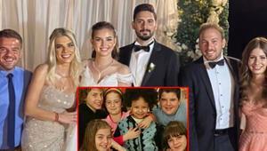 Sihirli Annem oyuncuları Gizem Güvenin düğününde bir araya geldi