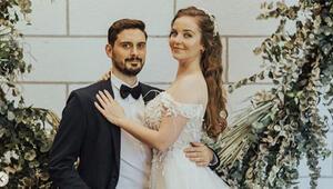 Sihirli Annem oyuncusu Gizem Güven futbolcu Caner Turp ile evlendi