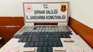 Şırnakta kaçakçılık operasyonu: 49 gözaltı