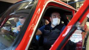 Bakan Varank, Formula 1 öncesi İstanbul Parkı test etti