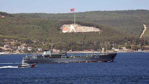 Rus savaş gemisi, Çanakkale Boğazından geçti