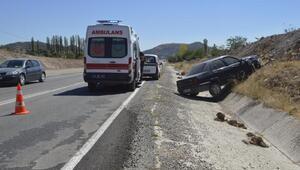 Tavşanlıda trafik kazası: 3 yaralı