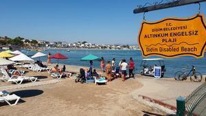 Engelsiz Plaj dünyanın dört bir yanından misafirlerini ağırlıyor