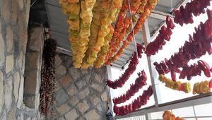 Zahire ayı başladı... Yaz lezzetleri kışın da sofraları süsleyecek