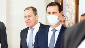 Lavrov'dan Esad'a destek ziyareti